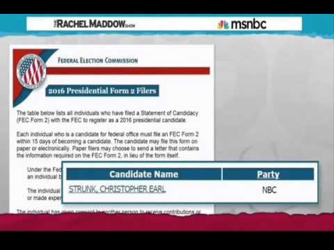 MSNBC: Natural Born Citizen Party