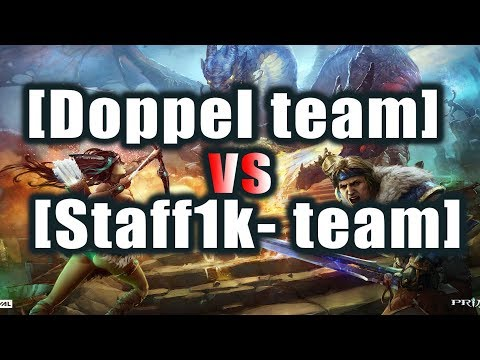 видео: [doppel team] vs [staff1k- team] Битва фулок prime world