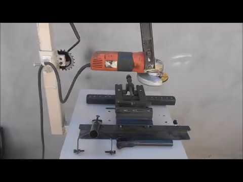 (Parte 2 )Maquina 3 en 1 Taladro, cortadora y rectificadora casera
