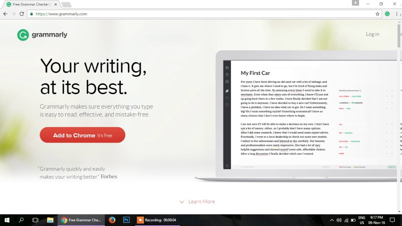 Free grammarly account premium