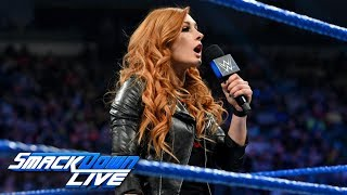 Charlotte Flair plans on ruining Becky Lynch's WrestleMania dreams: SmackDown LIVE, March 12, 2019