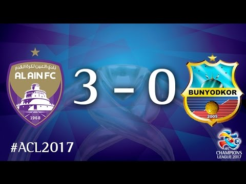 Al Ain vs Bunyodkor (AFC Champions League 2017: Group Stage – MD6)