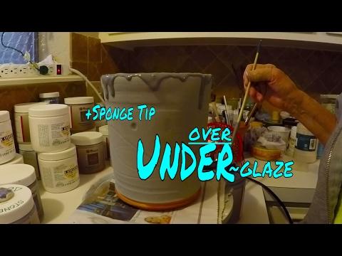 Apply Underglaze/Glaze + Save $ DIY Sponges~  Throwing/Pottery/Wheel/Ceramic/Making/Clay