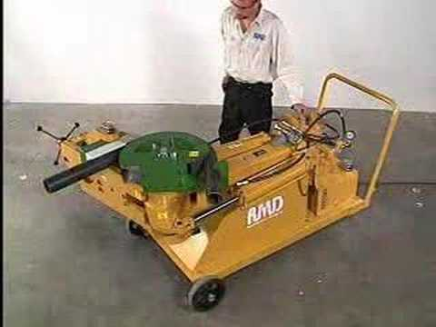 Baileigh RDB-500 Tube and Pipe Bender, Tubing Bender, Large Capacity, Great Bend Quality, Hydraulic