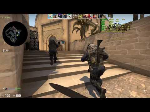 CS:GO - Mirage - MG2 - Gameplay /w FPS - GTX 1070 Ti + i7