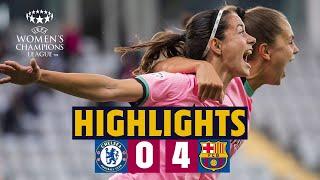 🏆 BARÇA WIN UEFA WOMEN'S CHAMPIONS LEAGUE! CHELSEA 0-4 BARÇA | HIGHLIGHTS