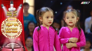 Thách thức danh hài 6| Tập 1: Cặp sinh đôi 6 tuổi cả gan chê quán A Xìn khiến Giang Ca cười nắc nẻ