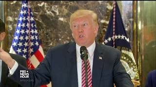 President Trump backtracks to blame both sides in Charlottesville violence