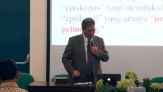 Dasar Penyampaian Khotbah oleh Dr.  J  S  Peranginangin