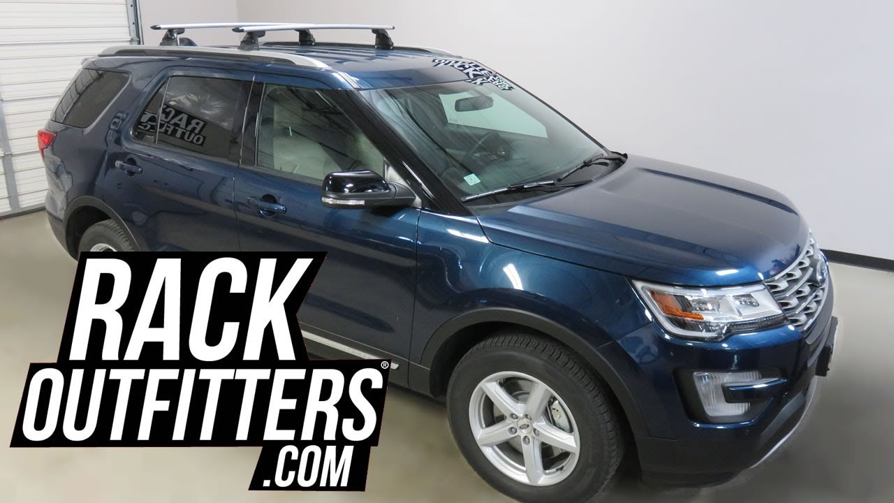 Ford Explorer With Yakima Skyline Jetstream Roof Rack Crossbars