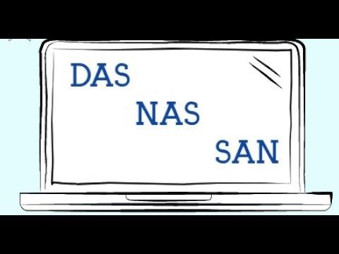 Cloud Storage - DAS, NAS, or SAN   TECh_And-I