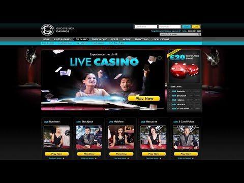 Grosvenor Live Casino Games Demo