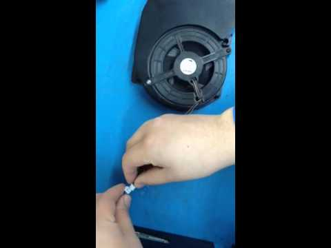 ps3 how to clean fan