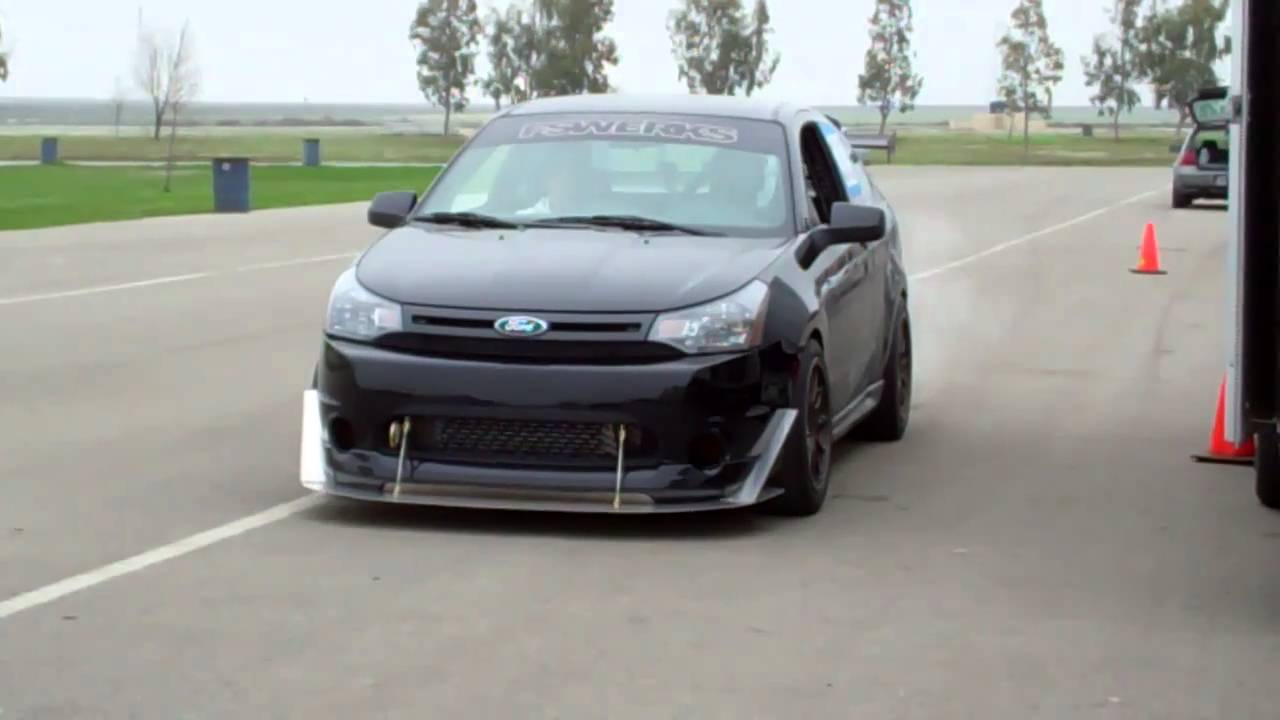 FSWERKS Ford Focus Turbo at Buttonwillow Raceway - YouTube