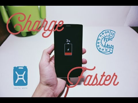 How to charge your Android Faster!