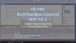 vb.net: RichTextBox Control Te…
