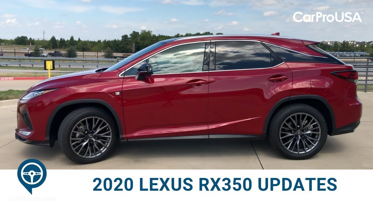 What S New For The 2020 Lexus Rx 350 Youtube