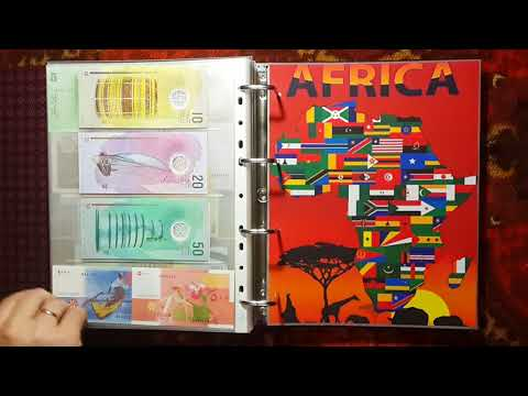 Collection of World Banknotes. Коллекция отечественных и зарубежных банкнот.
