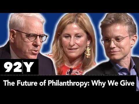 The Future of Philanthropy: Why We Give