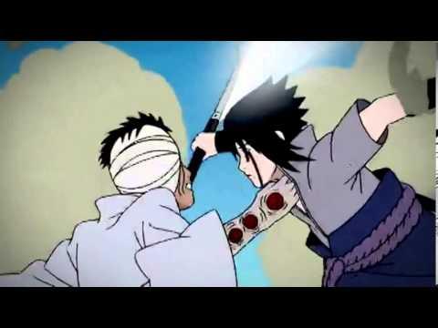 Sasuke vs Danzou ( Skillet - Awake and Alive )