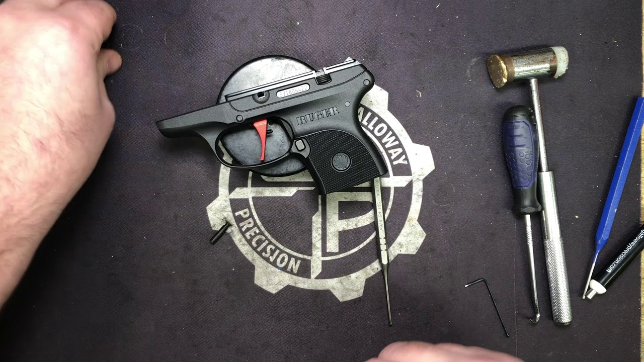 Peacekeeper Trigger for the Ruger LCP Series of Pistols