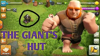 [Clash Of Clans] THE GIANT/GIANT'S HUT. NEW UPDATE. CLASHIVESARY.