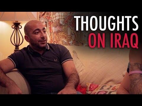 Tommy Robinson and Hashim Almadani: Thoughts On Iraq