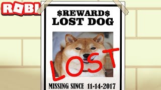 MY DOG RAN AWAY IN ROBLOX (Pet Escape)