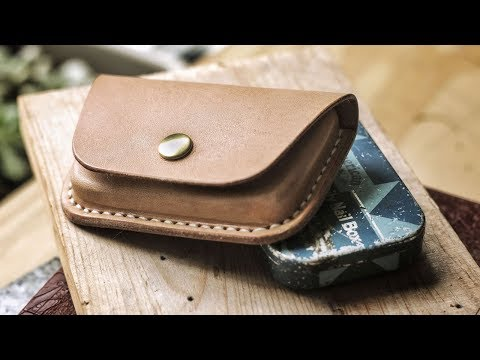 Wet Molding A Leather Credit Card Wallet