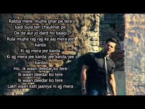 Jee Karda Official Full  Song With Lyrics | Badlapur | Varun Dhawan, Yami Gautam