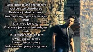 Jee Karda Official Full  Song With Lyrics   Badlapur   Varun Dhawan, Yami Gautam
