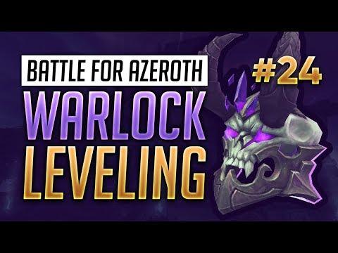 BFA Beta Warlock Leveling Playthrough - Part 24