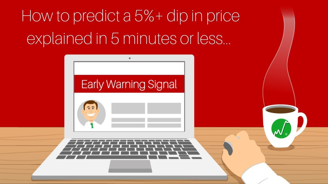 Early Warning Signal | How to Predict a 5%+ DIP in Price in 5 Minutes or  Less
