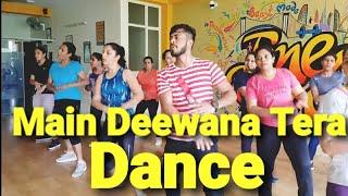 Guru Randhawa: Main Deewana Tera | zumba dance fitness workout choreography by amit