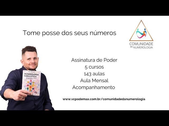 Números e Prosperidade - LIVE
