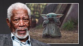 Morgan Freeman narrates the entire MANDALORIAN in 6 minutes...
