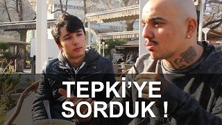 Tepki ile Röportaj Yaptık ! Video