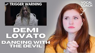 DEMI LOVATO I Dancing With The Devil I Vocal Coach Reacts