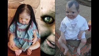 Creepiest possessed dolls have eyes that follow you 2018