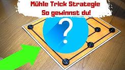 Mühle spielen Trick 😍 Mit dieser Strategie gewinnst du fast immer
