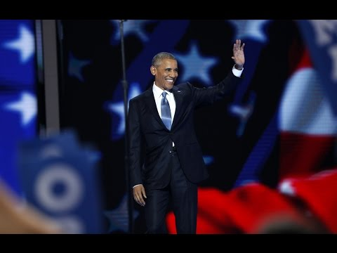 Watch President Barack Obama's full speech at the 2016 Democratic National Convention