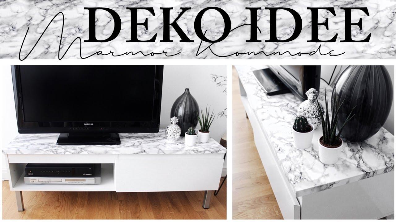 Diy pinterest deko idee marmor kommode ikea hack youtube - Pinterest diy deko ...