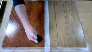 Mahogany Panel Wood Graining Effect