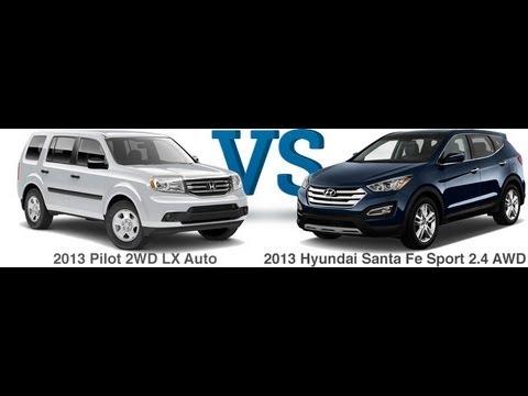 Honda Pilot Vs Hyundai Santa Fe >> Hyundai Santa Fe Vs Honda Pilot By Boston Area Hyundai Dealer