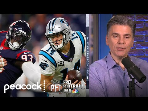Carolina Panthers lose Christian McCaffrey but still improve to 3-0 | Pro Football Talk | NBC Sports