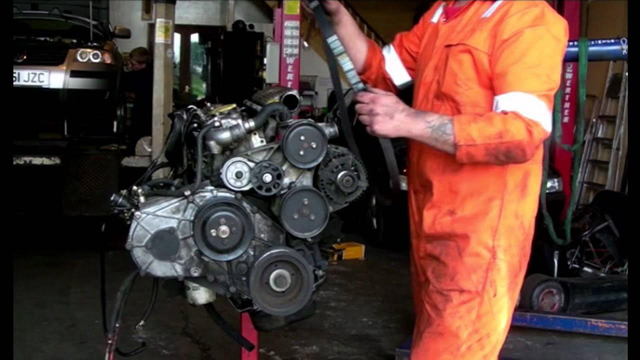 Idler Tensioner Aux 7pk Drive Belt Land Rover 300tdi Youtube