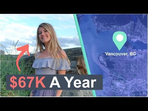 Living On $67K In Vancouver, BC | Millennial Money Ish (2020)