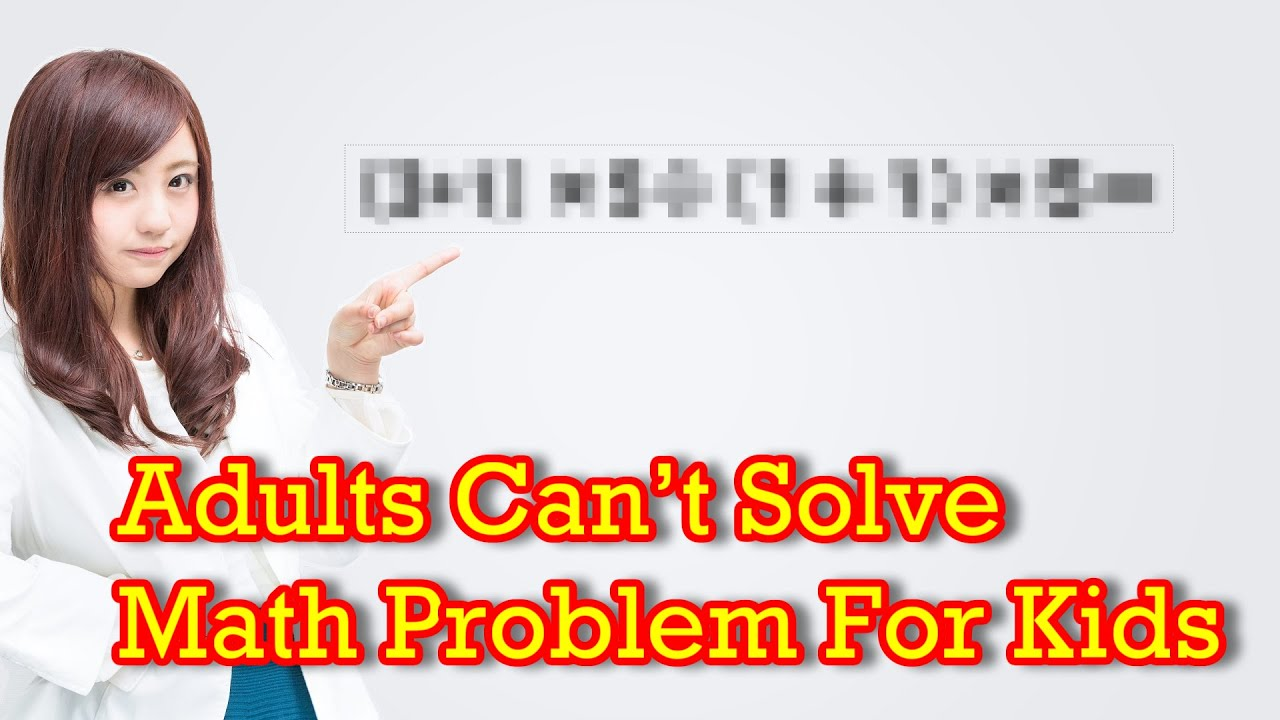 Hard math problems to solve