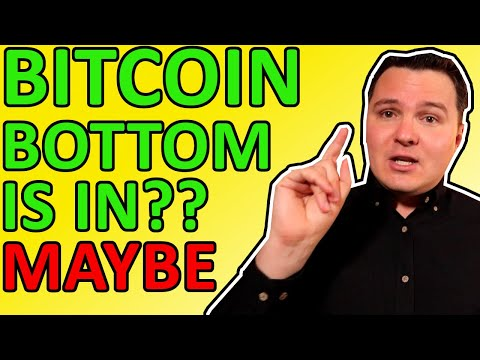 BITCOIN CRASH OVER? BOTTOM IN? SURPRISING BITCOIN NEWS SAYS YES! Bitcoin Analysis Today
