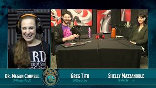 Dr. Megan Connell calls in to talk with hosts Greg Tito and Shelly ...